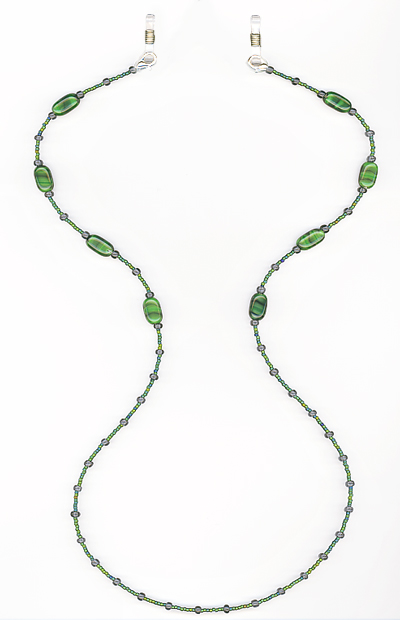 Evergreen Eyeglass Chain