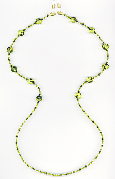 Spring Eyeglass Chain