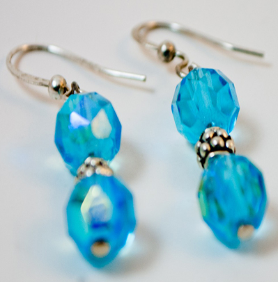 Blue Lagun Earrings