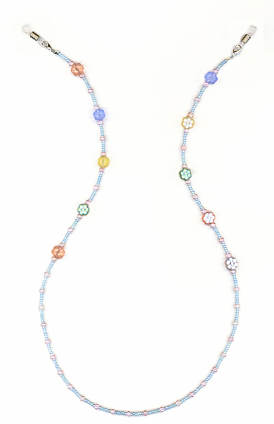 Flowers Eyeglass Chain