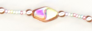 Fountain of Youth Eyeglass Chain Detail