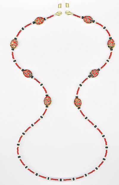 Lady Bug Eyeglass Chain