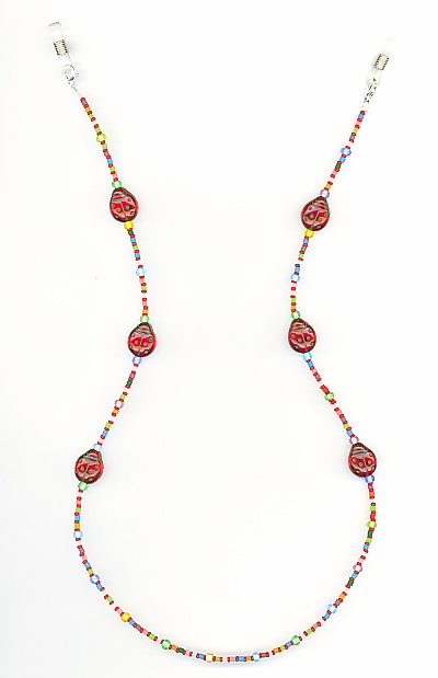 Lady Bug II Eyeglass Chain