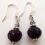 Bordo Earrings